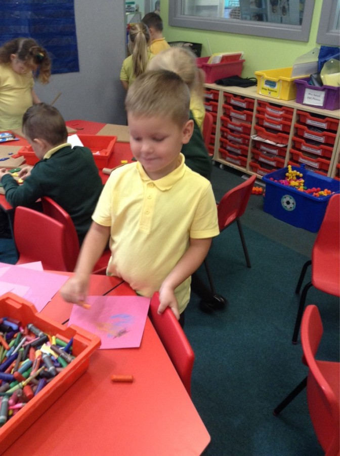 Our First full Week in Reception